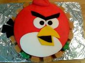 Ta-dah! Tuesday Angry Birds Cake
