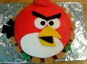 Ta-dah! Tuesday Angry Birds Cake