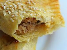 Tuna Turnover with Quick Easy Flaky Pastry (Delia Smith)