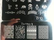 Nail Mail Stamping Plates