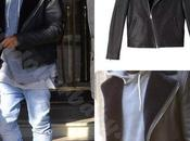 Kanye West Paris Wearing Louis Wong A.P.C Biker Leather...