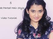 Sock Curling Video Side Parted Half Updo Tutorial