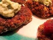 Baked Black Eyed Peas Croquettes