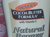 Palmers Natural Bronze Body Lotion.