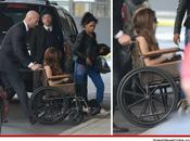 Lady Gaga's Louis Vuitton Wheelchair