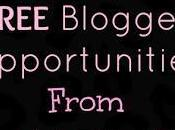 FREE Blogger Sign Multiple Opps from Sparkle Pink
