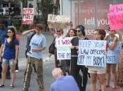 Rape NYPD Rally
