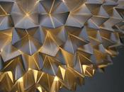 Faceted Paper Lamp
