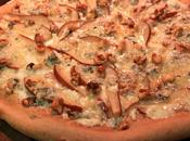 Pear, Gorgonzola Walnut Pizza