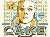 Cake Concert Poster Design: Inspiration Stream Graphic Design