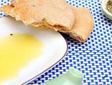 Whole-wheat Flat Bread (vegan)