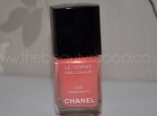 Chanel Vernis Nail Polish, Miami Peach (203) Swatched!