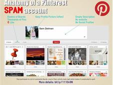 Spam Fishing Pinterest