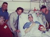 Bradley Cooper Visits Boston Victims Hospital