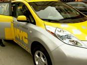 LEAF Electric Taxi Pilot Program Launched York