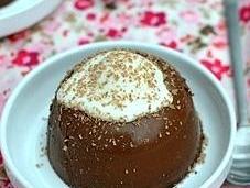 Chocolate Panna Cotta with Agar