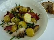 Makerel, Bacon Potato Salad