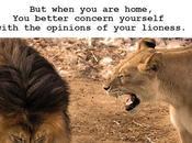 Always Listen Your Lioness