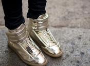TREND ALERT! Metallic Shoes Ladies Gents