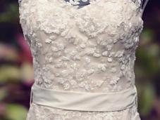 Bridal Gown Designer Turned Blushing Bride