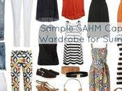 Sample SAHM Capsule Wardrobe Summer