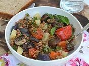 Farro Salad with Roasted Vegetables