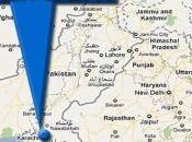 Eight Injured Blast Near Office Karachi