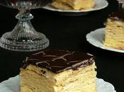 Napoleon Cake with Ganache Торт Наполеон Ганашем
