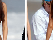 Kendall Jenner Sports Agua Bendito Monokini