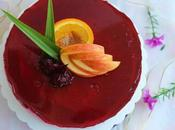 Roselle No-Bake Cheesecake