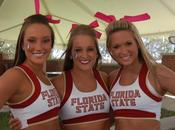 Florida State Cheerleaders Just Plain