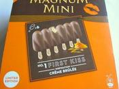 Limited Edition Magnum Mini First Kiss Crème Brûlée