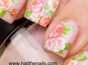 Rose Nails Idea