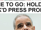 Left, Right Finally Agree- Eric Holder Must
