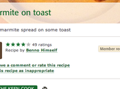 Particularly Serious Recipe from Food Community