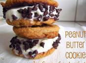 Peanut Butter Cookie Cream Sandwiches
