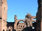 Thermal Baths Caracalla Today During Roman Age, Rome