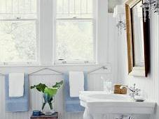 Transform Your Bathrooms Through Beadboard Paneling