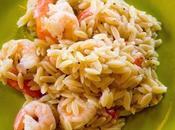 Secret Recipe Club: Lemon Pepper Shrimp Scampi