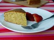 Ground Hazelnut Olive Cake