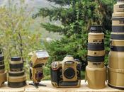 """Photographer Gives Nikon Gear """"Desert Mirage Lizard"""" Paint"""