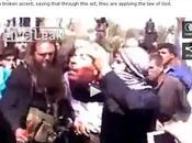 Extremely Graphic Video Syrian Rebels Beheading Men, While Screaming Allahu Akbar!
