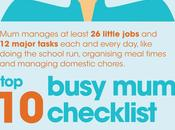 Memory 'little Jobs' Mum's Checklist Every Morning (Infographic)