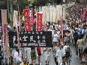 Hong Kong: Tens Thousands Protest Democracy Environment