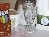 Making Your Yummy Skittles Milkshake!