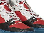 Panelled Primaries: Balenciaga High-Top Sneakers