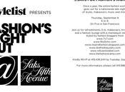 RSVP Saks Fashion's Night Out!!!