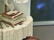 Book Arts Mysterious Paper Sculptures Left Edinburgh Libraries Central Station Blog Post