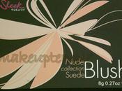 Swatches: Blush: Sleek Makeup: Makeup Nude Collection: Collection Suede Blush Swatches Review