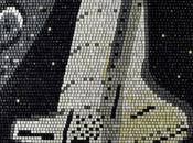 Keyboard Keys Makes Space Shuttle Mosaic Odditycentral.com